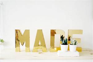 gold block letters hooray mag With gold block letters