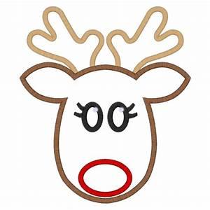 best photos of reindeer face template rudolph reindeer With reindeer face template printable