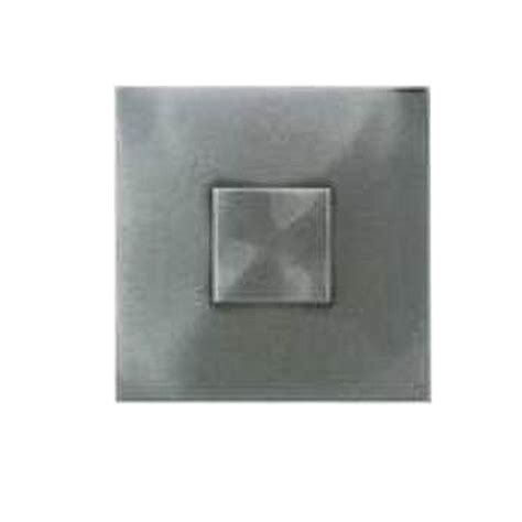 daltile metals stainless 2 in x 2 in composite dot