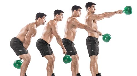 Kettlebell Swing Exercise by The 5 Week Whole Single Kettlebell Workout