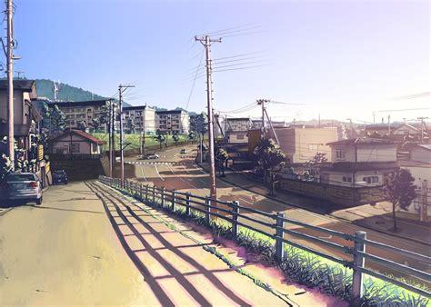 Anime City Scenery Wallpaper - anime city scenery wallpaper fondos
