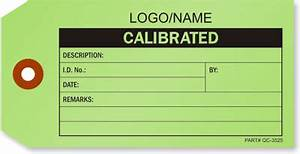 calibration tags buy inspection tag with customizable With calibration stickers template