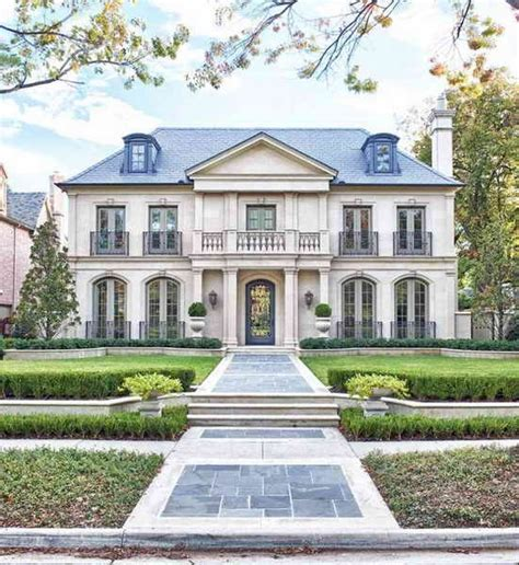 Architecture  French Country House Plans One Story French