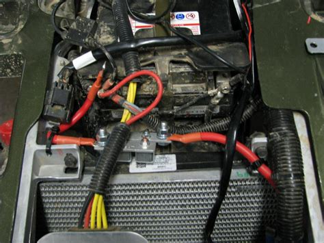 battery wires question polaris atv forum