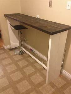 Diy Bar Height Table - WoodWorking Projects & Plans