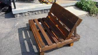 Diy Cushion Bench by Pallet Chair Youtube
