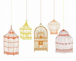 Birdcage Art Print 8x10 by LovelyPiecesDesign on Etsy