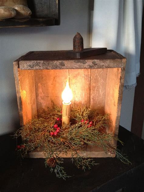 primitive christmas ideas  pinterest