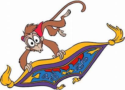 Abu Clipart Carpet Magic Disney Characters Aladdin