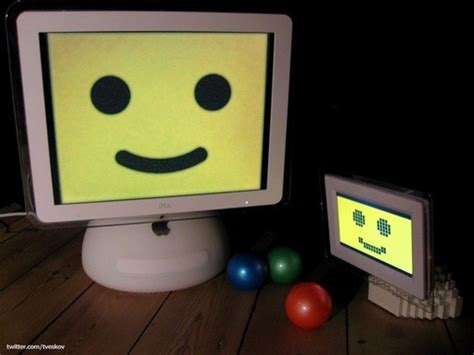 lego imac  junior   cutest   bricks
