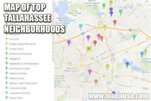 Tallahassee Neighborhood Map