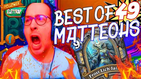 matteohs  rng hearthstone twitch moments