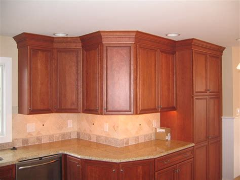 crown molding ideas for kitchen cabinets kitchen cabinets w crown moulding peters custom