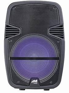 Portable, 15, U2033, Bluetooth, U00ae, Party, Speaker, With, Disco, Light, U0026, Stand, U2013, Naxa, Electronics