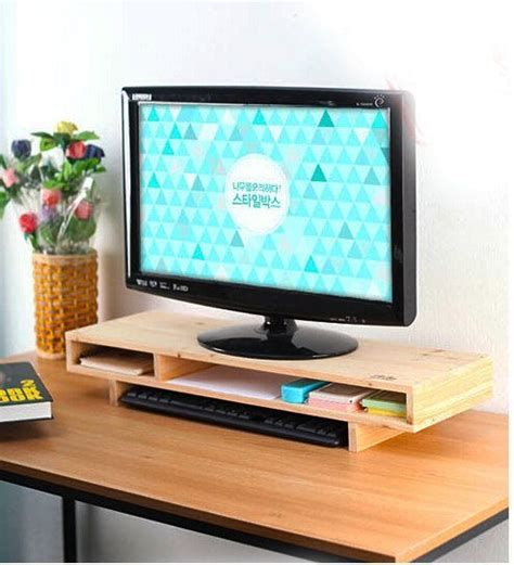 monitor stand for desk monitor stand monitor and office desks on pinterest