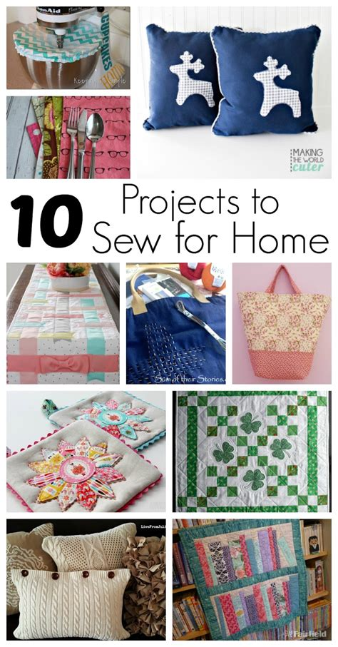 projects  sew  home  block party rae gun