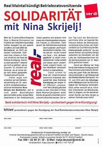 Verkäuferin Gesucht Berlin : real maintal k ndigt betriebsratsvorsitzende ~ Orissabook.com Haus und Dekorationen