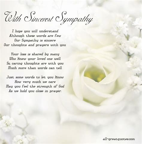 sympathy card messages with sincerest sympathy i hope you will greeting cards sympathy pinterest condolences