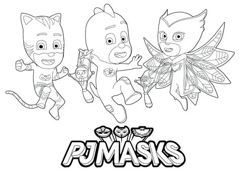 pj masks  print   pj masks kids coloring pages