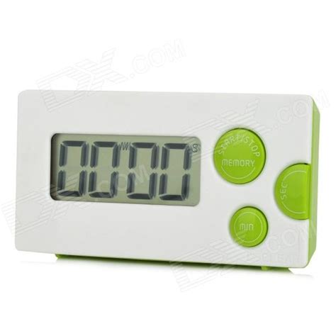 best digital timing light haptime ygh 116 1 85 quot lcd 4 digital kitchen timer white