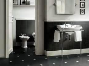 Bathroom Tile Ideas Black And White Black White Bathroom Tiles 2017 Grasscloth Wallpaper