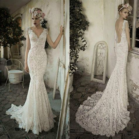 sleeve lace open back wedding dress 100 picture mermaid lace wedding dresses backless v