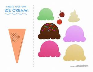 tim van de vall comics printables for kids With paper ice cream cone template