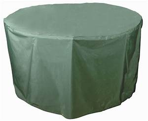 bosmere circular round garden table covers gardensitecouk With outside furniture covers uk