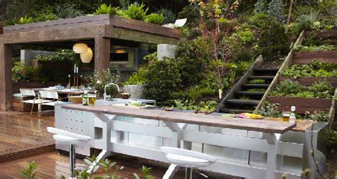 amenagement cuisine exterieure cuisine extérieure 6 aménagements pour l 39 eté deco cool