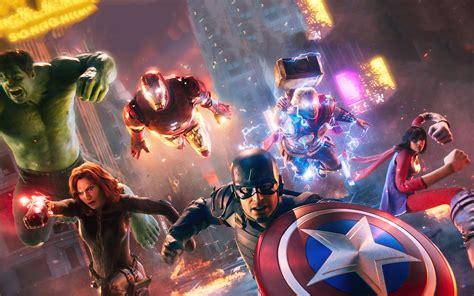 2560x1600 Marvels Avengers 2020 Game 2560x1600 Resolution ...