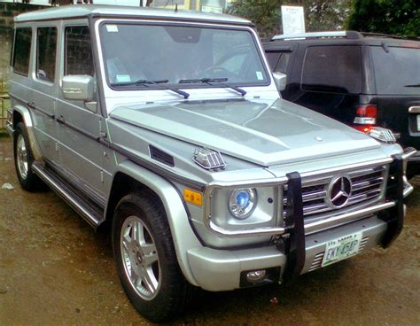 Mercedes Benz G-wagon G500 For A Slightly Lower Price.see