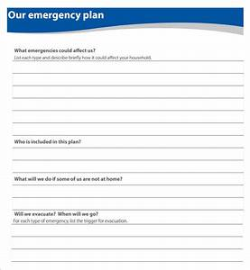 9 home evacuation plan templates free pdf documents With fire evacuation procedure template free