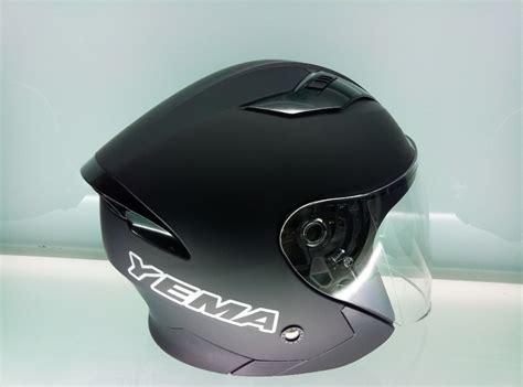Ym-630 Vega Helmets Jet Open Face Dual Visor Motorcycle
