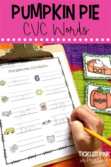 learning  pumpkins  images cvc words phonics