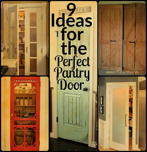 Kitchen Restoration Ideas - 9 ideas for the perfect pantry door