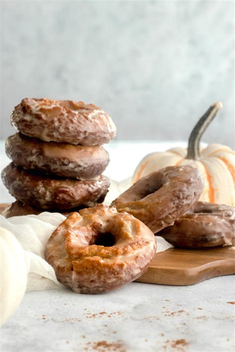 Best fall donut recipes: Pumpkin Spice Old Fashioned