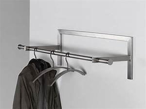 Design Garderobe Edelstahl : wandgarderobe edelstahl flurgarderobe 87cm sale flur ~ Michelbontemps.com Haus und Dekorationen