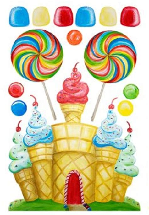 images  candyland birthday printables