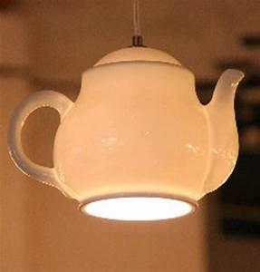 Teekanne Weiß Porzellan : deckenlampe teekanne porzellan weiss 27cm h ngelampe lampe ~ Michelbontemps.com Haus und Dekorationen