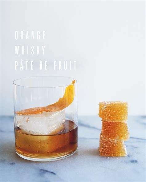 orange whisky pate de fruit the kitchy kitchen