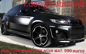 Bmw X6 Noir : total covering noir mat total covering noir mat film noir mat peinture vehicule mat voiture ~ Gottalentnigeria.com Avis de Voitures