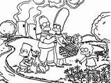 Simpsons Coloring Funny Simpson Springfield Os Colorear Unicorn Dibujar Cartoon Bart Homer Sheets Wecoloringpage Cool Paginas Ninos Adult Marge Lisa sketch template