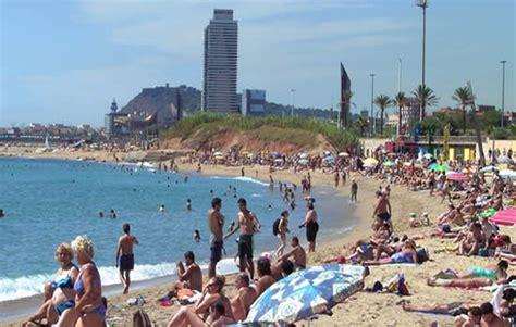 playa mar bella en barcelona siente barcelona