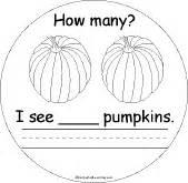 How Many Pumpkins Book: Page 2 - EnchantedLearning.com