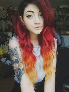 fire hair on Tumblr