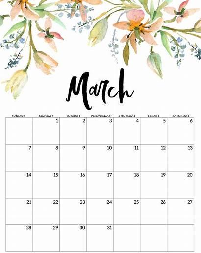 2021 March Calendar Printable Template Plan Tasks