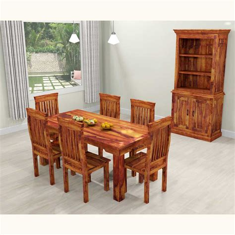 rustic dining table dallas dallas ranch solid wood rustic dining table chairs hutch set