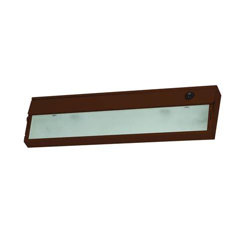 juno pro series 14 in black halogen cabinet light
