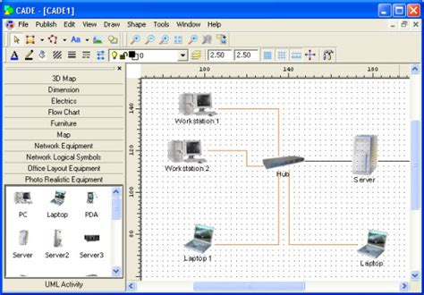 top  network diagram topology mapping software pc