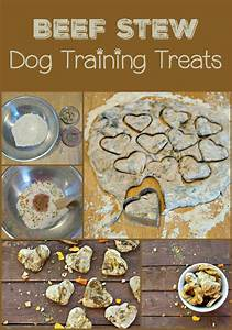 Beef Stew Flavored Dog Treats Recipe: Training Treats
